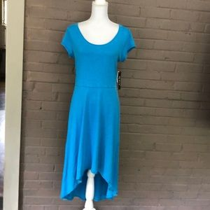 Marc  New York. Blue dress with cutout back  M